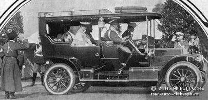 1906 год, Делоне-Бельвиль - первый автомобиль Императора